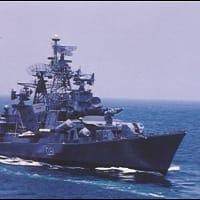 ミサイル駆逐艦「ラージプート」