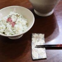 生姜焼きと春のご飯