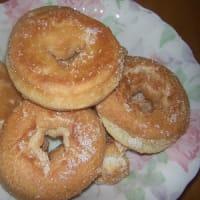 娘の手作りドーナッツ