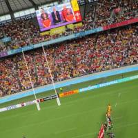 本当だった「一生に一度だ!」:ラグビー・ワールド・カップ ウェールズvsオーストラリア @東京スタジアム