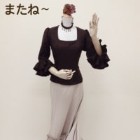 フラメンコ衣装の花形