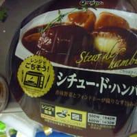 角煮カレーとシチュードハンバーグ