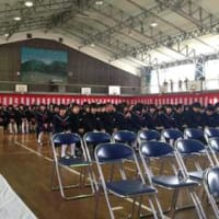 大田一中卒業式を前にして