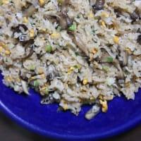 1月9日  しらすと舞茸の葱玉チャーハン弁当