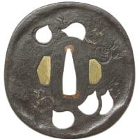 宝珠図鐔 埋忠明寿 Myoju Tsuba