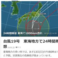 台風19号の1日