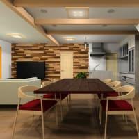 部屋の雰囲気と過ごし方の工夫を空間構成とそれぞれのレイアウトと設計デザインのポイントで広さの意識や安定感を表現するように間取りの工夫色々と。