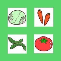 野菜1(果物・野菜/ミニカット)