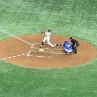Baseball in Tokyo Dome