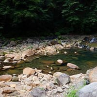尻焼温泉 川の湯