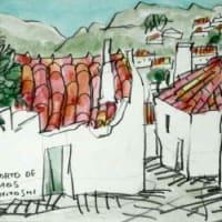 1840. ポルト・デ・モスの町角