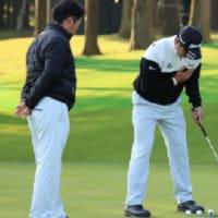 松山プロの今までと違うところはコーチが付いた事!