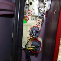 ストリーム(RN1)ドアロック アクチュエータ交換<運転席側>