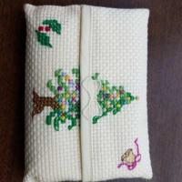 刺繍。クリスマスによせて!