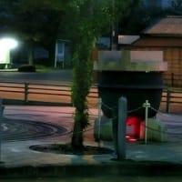 JR可部駅のモニュメント