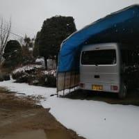 雪のちらつく寒い日でした