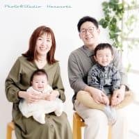 7/30 気軽な家族写真撮影・自然光でね~♫ 札幌フォトスタジオハレノヒ