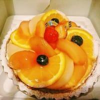 FLOの桃タルト