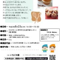 いちごの庭 スイーツレッスン☆Part 5 kids編 「マフィンを作ろう!」