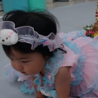 誕生日(1歳)・記念撮影
