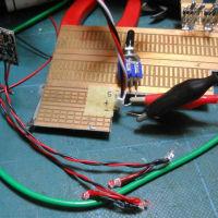 Mini-Zレーサー ブレーキランプ制御回路