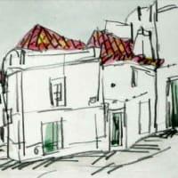 1847. モンティージョの町角
