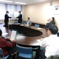 新宿区長に羽田新飛行ルートの中止を国に求めるように申し入れ