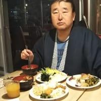本日はコスパ日本一と言われている米子のホテルへ。1泊2食バイキング付きで〇〇〇〇円。目の前に大山。部屋にマッサージ機。スーパームーンからパワーを。