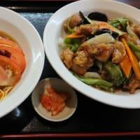 台湾料理 弘祥 「台湾冷麺+鶏肉飯」