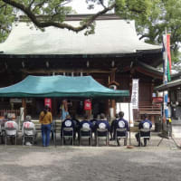 今年の「北岡神社例大祭」