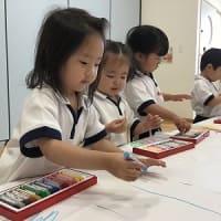 エンジェルクラス わかば組・ひよこ組 身体測定&お絵描き