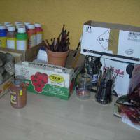 ザリピエ村訪問記 7 ペインティングアート体験教室