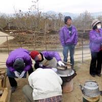12月23日(月) 長野市水害地域支援活動