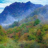 西沢渓谷 三重の滝