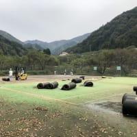 テニスコート 2面張り替え工事について