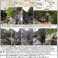 19.5剣岳・槍ヶ岳登頂に向けて・・・御在所岳籐内壁・後尾根