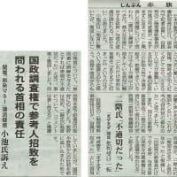 #akahata 政府・与党の認識問われる/二階氏「まずまず」発言 日本共産党:小池氏主張・・・今日の赤旗記事