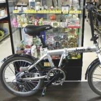 男心をくすぐるJeepの折り畳み自転車