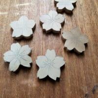 桜の箸置き 量産中