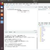 Ubuntu 18.04 LTS + RStudio 1.2.xで日本語を入力する方法