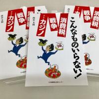 最新刊『こんなものいらない! 消費税、戦争、そしてカジノ』(西谷和文/著)が出来!