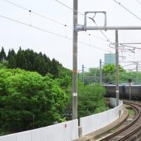 山陰本線(嵯峨野線) 梅小路京都西駅ホームから撮った特急ほか(2019年4月)