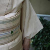 自然布と夏紬