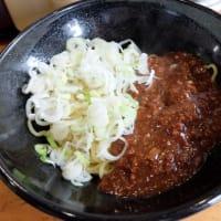 <gourmet>天下一 ジャージャー麺+油そば しょうゆ
