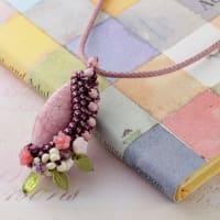 ジュエリークロッシェ・袋編み