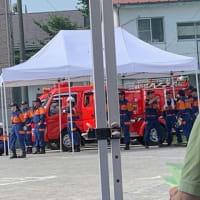 ■ 真夏の/消防訓練・あちぃ・・・