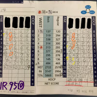 今日のゴルフ挑戦記(323)/東名厚木CC イン(B)→ウエスト