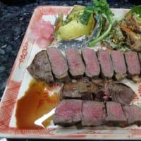 海外で「塩麴」作り。ビーフステーキも塩麴で柔らかくする方法の一つだ。