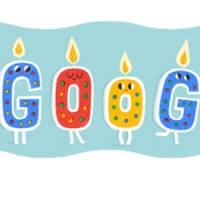 【Googleのロゴ】誕生日おめでとう!