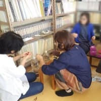 田布施コットンクラブの活動、織物の歴史と玉巻きほか